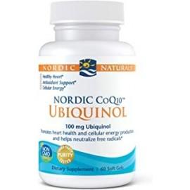 NORDIC NATURALS NORDIC COQ10 UBIQUINOL 60 CAPS