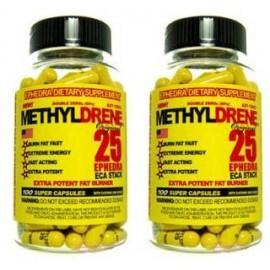 METHYLDRENE 25 (100 CAPSULAS )