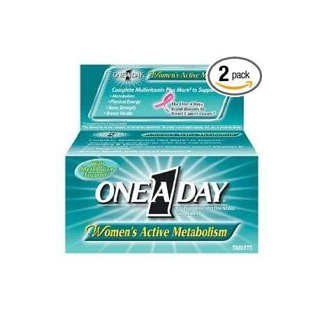 One-A-Day para mujeres- 2 packs (100 capsulas)