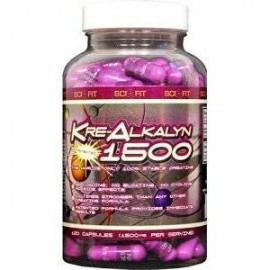 Kreatine Alkalyn de Scifit (120 capsulas)