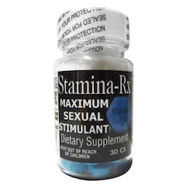 STAMINA RX - ESTIMULANTE SEXUAL NATURAL (30 CAPSULAS)