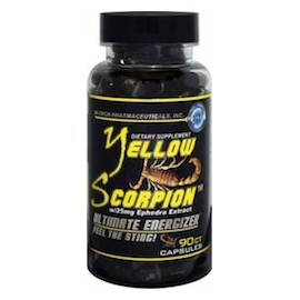 YELLOW SCORPION - ESTIMULANTE EPHEDRA NATURAL (90 CAPSULAS)