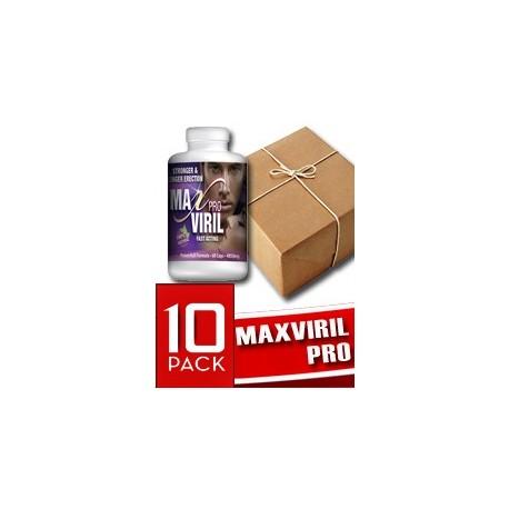 MAXVIRIL PRO - POTENTE AFRODISIACO (10 FRASCOS)