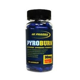 PYROBURN - QUEMADOR EFEDRA - (3 FRASCOS)