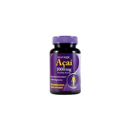 ACAI 1000 MG - QUEMADOR NATURAL (60 CAPSULAS)