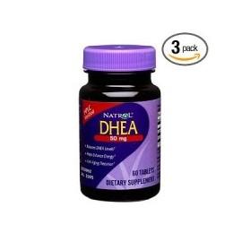 DHEA 50MG - CICLO DE SEIS MESES (3 FRASCOS)