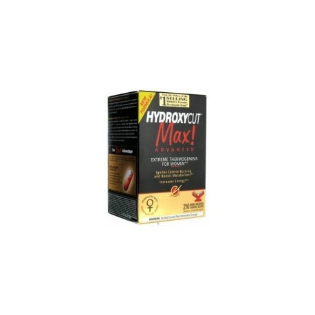 HYDROXYCUT MAX ADVANCED - (210 CAPSULAS)