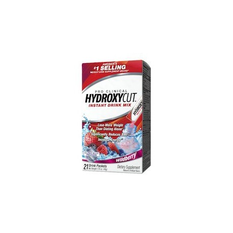 HYDROXYCUT PRO CLINICAL INSTANT DRINK MIX (21 BOLSITAS)