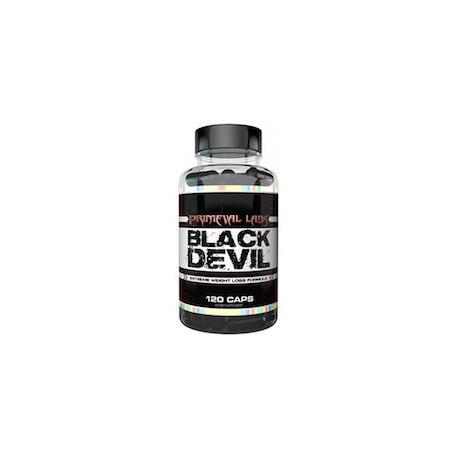 BLACK DEVIL - MAS ENERGIA - MENOS GRASAS (120 CAPSULAS)