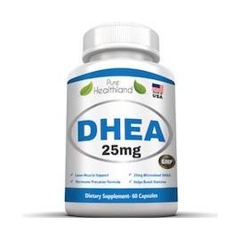 DHEA 25MG - PARA HOMBRE Y MUJER (60 CAPSULAS)