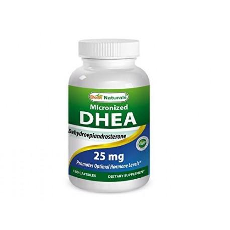 MICRONIZED DHEA 25MG (180 CAPSULAS)