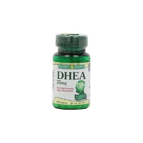 DHEA 25 MG - DEHYDROEPIANDROSTERONE (100 CAPSULAS)