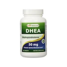 DHEA 50 MG DEHYDROEPIANDROSTERONE (120 CAPSULAS)