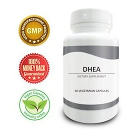 DHEA 100 MG ( 50 CAPSULAS VEGETARIANAS)