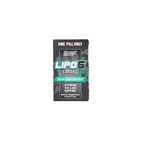 LIPO 6 BLACK HERS ULTRA CONCENTRATE (120 CAPSULAS)