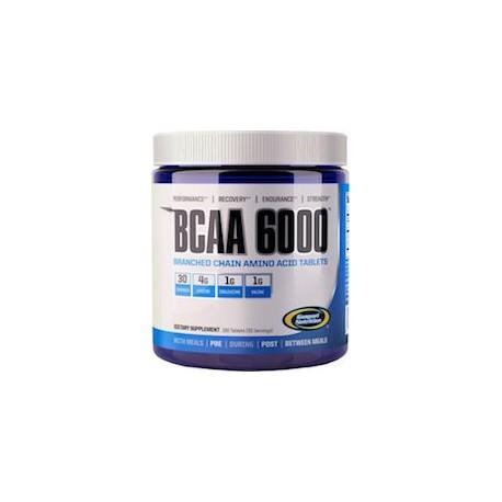 BCAA 6000 - CADENA DE AMINOACIDOS COMPLETA (180 CAPSULAS)