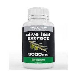 OLIVE LEAF EXTRACT 3000 MG - ANTIBIOTICO NATURAL (90 CAPSULAS)