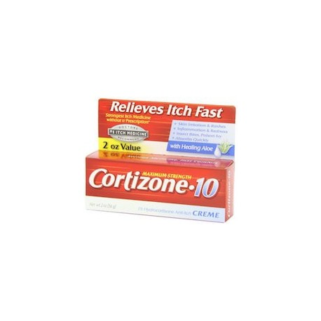 MAXIMUM STRENGTH CORTIZONE 10 - CREMA CONTRA LA PICAZON (60 G)