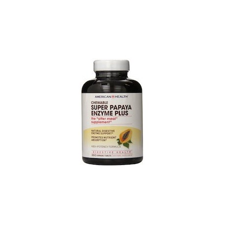 SUPER PAPAYA ENZYME PLUS - MUY DIGESTIVO (360 CAPSULAS)