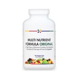 MULTI NUTRIENT FÓRMULA ORIGINAL - LONGEVIDAD (180 CAPSULAS)