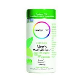 MEN'S MULTIVITAMIN - VITAMINAS DE HOMBRES - LONGEVIDAD (180 CAPSULAS)