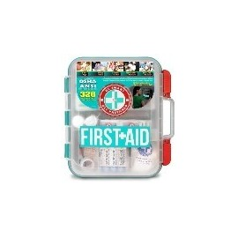 FIRST AID KIT HARD RED CASE (326 ARTICULOS)
