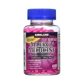ALLERGY MEDICINE 25 MG - ANTIHISTAMINICO (600 X 3 - 1800 MINI CAPSULAS)