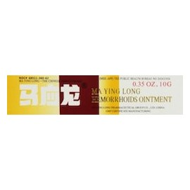 MA YING LONG MUSK HEMORRHOIDS OINTMENT 3 PAQUETES DE (10 G)