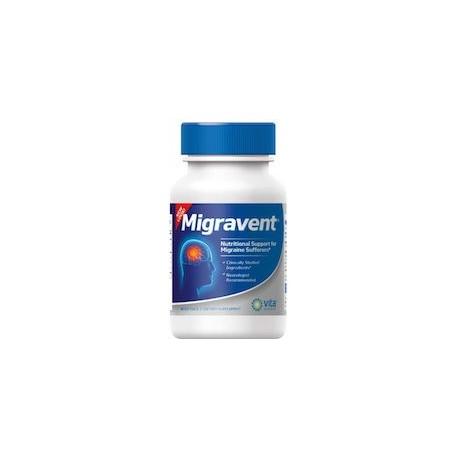 MIGRAVENT MEDICAMENTO PARA LA MIGRAÑA (60 CAPSULAS)