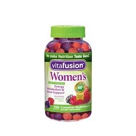 WOMEN'S - SUPLEMENTO DIETÉTICO - VITAMINAS PARA MUJERES (150 GOMAS)