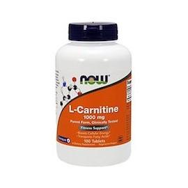 L-CARNITINE 1000MG - ORIGINAL Y NATURAL DE NOW FOODS (100 CAPSULAS)