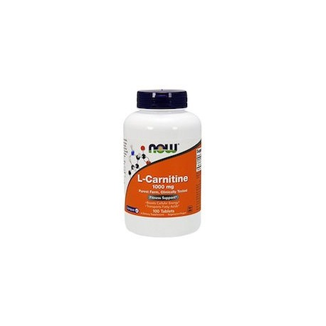 L-CARNITINE 1000MG - ORIGINAL Y NATURAL DE NOW FOODS (100 CAPSULAS)