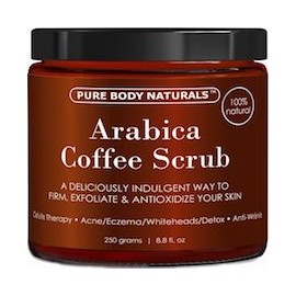 ARABICA COFFEE SCRUB - CREMA DE CAFE - QUITAR CELULITIS (250G)