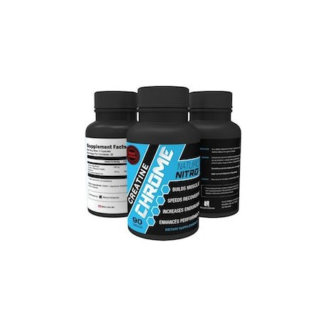CREATINE CHROME - CREATINA PURA Y NATURAL (90 CAPSULAS)
