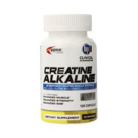 CREATINE ALKALINE - (120 CAPSULAS)