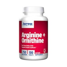 ARGININE AND ORNITHINE - AMINOACIDOS (100 CAPSULAS)