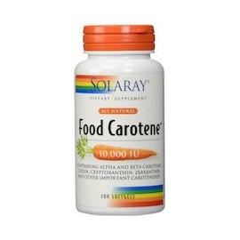 FOOD CAROTENE - EL MEJOR SUPLEMENTO DE CAROTENO (200 CAPSULAS)