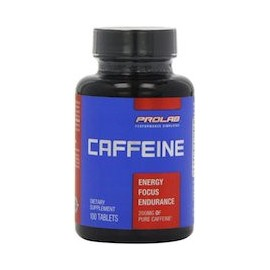 CAFFEINE 200 MG - CAFEINA PURA EN TABLETAS (100 CAPSULAS)