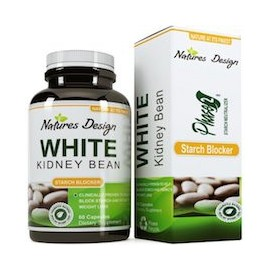 WHITE KIDNEY BEAN - BLOQUEADOR DE GRASA NATURAL (60 CAPSULAS)