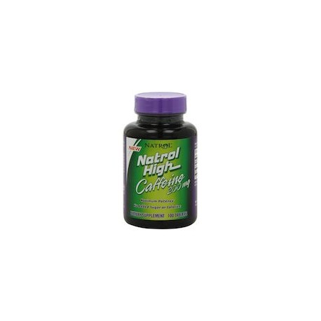 NATROL HIGH CAFFEINE - CAFEINA (100 TABLETS)