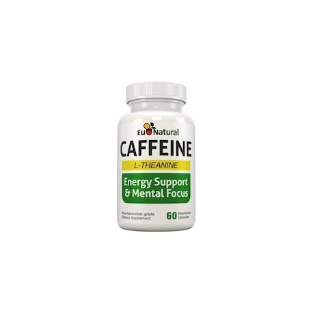 CAFFEINE L-THEANINE - CAFEINA Y TEANINA (60 CAPSULAS)