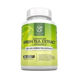 ADVANCED GREEN TEA EXTRACT AND VITAMIN C (120 CAPSULAS)