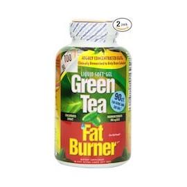GREEN TEA FAT BURNER - QUEMADOR DE GRASAS (90 CAPSULAS 2 FRASCOS)