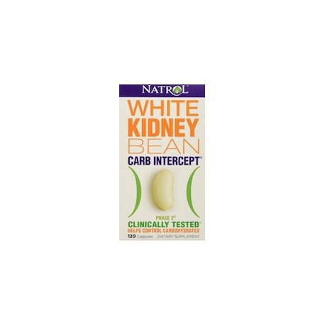 WHITE KIDNEY BEAN CARB INTERCEPT (120 CAPSULAS)