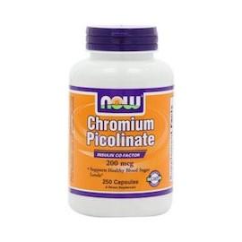 CHROMIUM PICOLINATE 200 MCG (250 CAPSULAS)