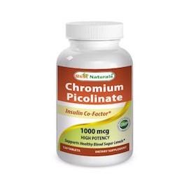 CHROMIUM PICOLINATE 1000 MCG (120 CAPSULAS)