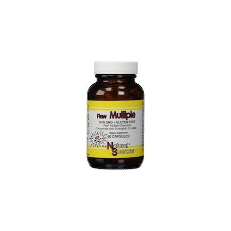 RAW THYROID - SUPLEMENTO NATURAL PARA LA TIROIDE (60 CAPSUSLAS)