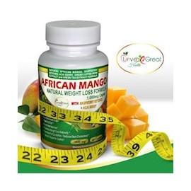 AFRICAN MANGO NATURAL WEIGHT LOSS FÓRMULA 1000MG (60 CAPSULAS)