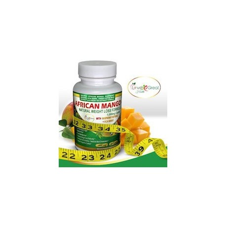 AFRICAN MANGO NATURAL WEIGHT LOSS FÓRMULA 1000MG (60 CAPSULAS)