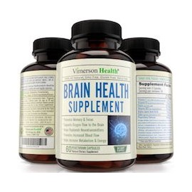 BRAIN HEALTH SUPPLEMENT MEJORAR LA ESTABILIDAD MENTAL (60 CAPSULAS)
